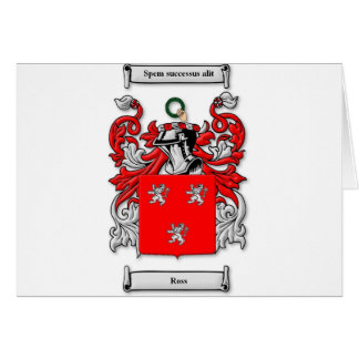 Ross Coat of Arms Greeting Card