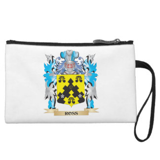 Ross- Coat of Arms - Family Crest Wristlet Clutch