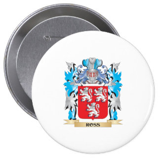 Ross Coat of Arms - Family Crest Button