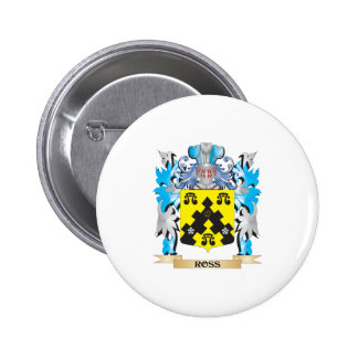 Ross- Coat of Arms - Family Crest Button