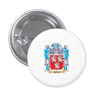 Ross Coat of Arms - Family Crest Pinback Button