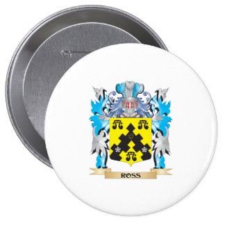 Ross- Coat of Arms - Family Crest Buttons