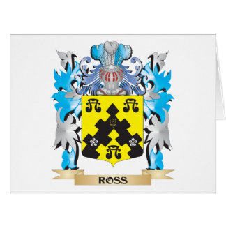 Ross- Coat of Arms - Family Crest Large Greeting Card