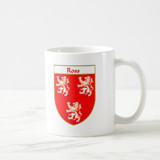Ross Coat of Arms/Family Crest Coffee Mug