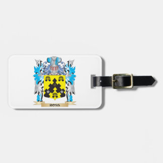 Ross- Coat of Arms - Family Crest Travel Bag Tags
