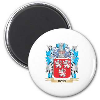 Ross Coat of Arms - Family Crest Refrigerator Magnet