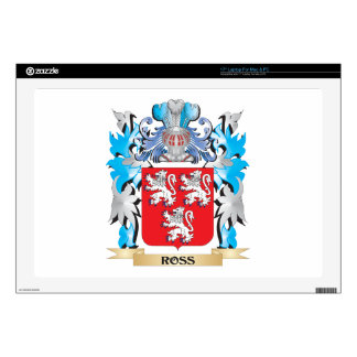 """Ross Coat of Arms - Family Crest Decals For 17"""" Laptops"""