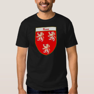 Ross Coat of Arms/Family Crest Tee Shirt