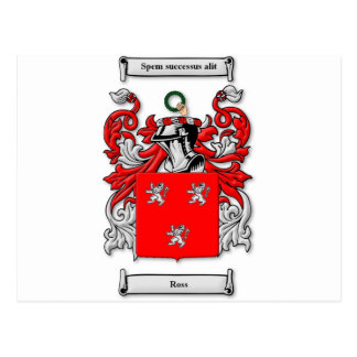 Ross Coat of Arms Postcard