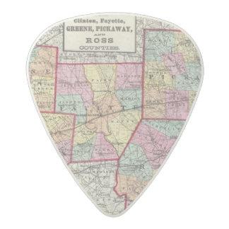 Ross Counties Acetal Guitar Pick