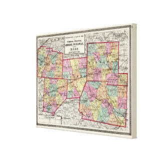 Ross Counties Canvas Print