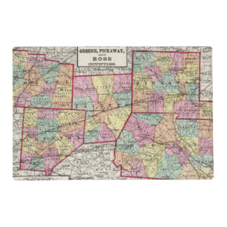Ross Counties Placemat
