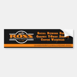 Ross Custom Graphics Bumper Sticker