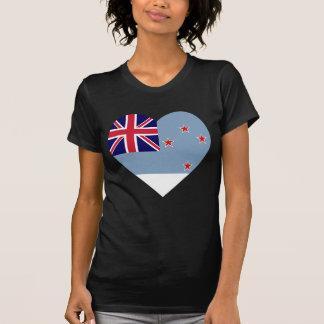 Ross Dependency Flag Heart T-shirts