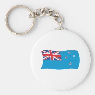 Ross Dependency Flag Keychain