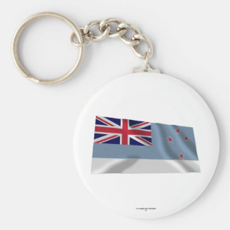 Ross Dependency Waving Flag Keychains