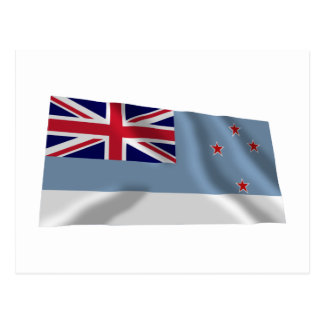 Ross Dependency Waving Flag Postcard