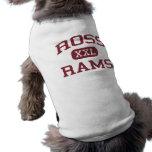 Ross - espolones - escuela secundaria de Ross - Ha Camisetas Mascota