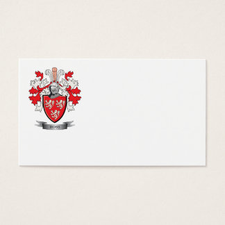 Ross Family Crest Coat of Arms Business Card
