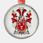 Ross Family Crest Ornaments