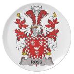 Ross Family Crest Plate
