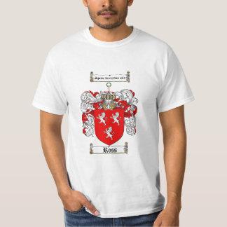 Ross Family Crest - Ross Coat of Arms T-shirt