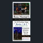"""Ross Homer - author rack card<br><div class=""""desc"""">Ross Homer - author rack card for the Scepter of the Nile book series and the Witches of Aba Nam book series.</div>"""