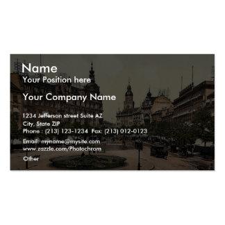 Ross Market, Frankfort on Main (i.e. Frankfurt am Business Card