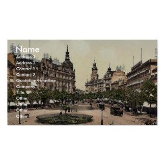 Ross Market, Frankfort on Main (i.e. Frankfurt am Business Card Templates