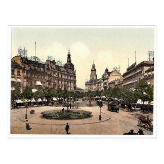 Ross Market, Frankfort on Main (i.e. Frankfurt am Postcard