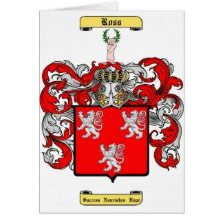 ross (scottish) greeting card