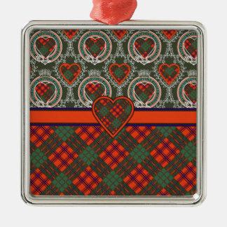 Ross Scottish Tartan Ornaments