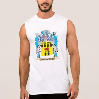 Rossander Coat of Arms - Family Crest Sleeveless T-shirt