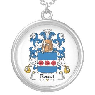 Rosset Family Crest Custom Jewelry