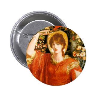 Rossetti A Vision of Fiammetta Button