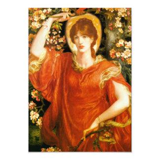 Rossetti A Vision of Fiammetta Invitations