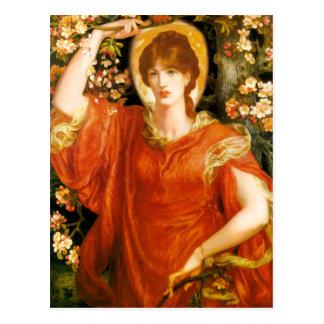 Rossetti A Vision of Fiammetta Postcard