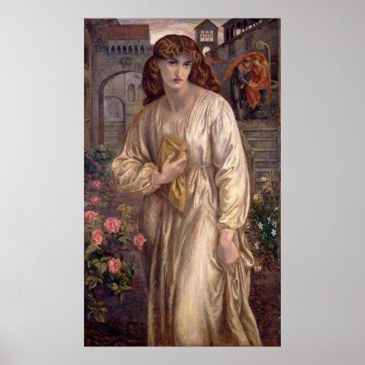 Rossetti Beatrice CC0001 Poster