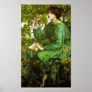 Rossetti el poster del sueño del día
