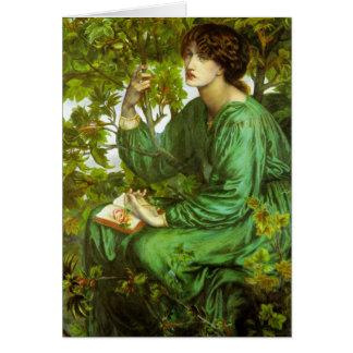 Rossetti la tarjeta de felicitación del sueño del