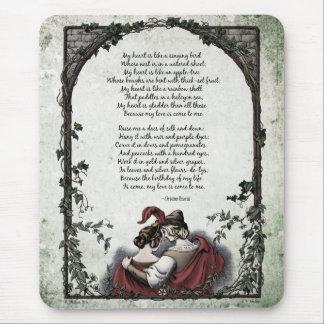 "Rossetti ""Love"" Victorian Art Mousepad"