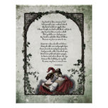 "Rossetti ""Love"" Victorian Art Poster"