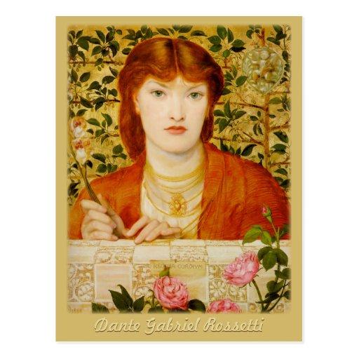 Rossetti Regina Cordium CC0649 Postcard