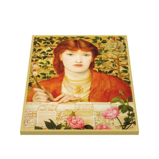 Rossetti Regina Cordium CC0654 Canvas