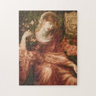 Rossetti Roman Harp Player Puzzle