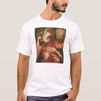 Rossetti Roman Harp Player T-shirt