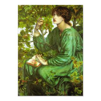 Rossetti The Day Dream Invitations