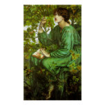 Rossetti The Day Dream Poster
