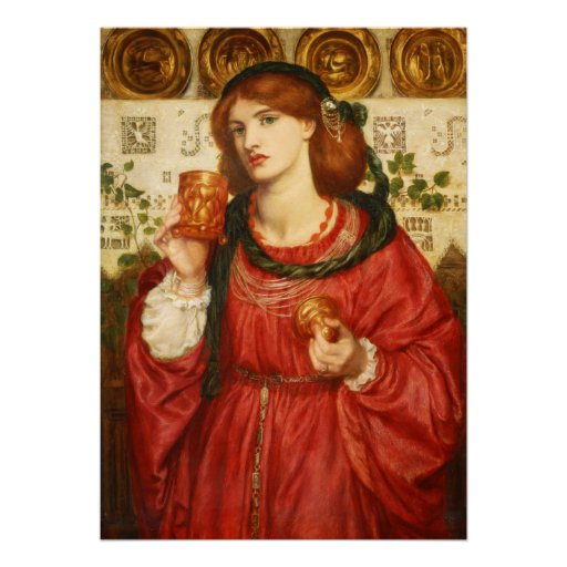 Rossetti The Loving Cup CC0175 Poster