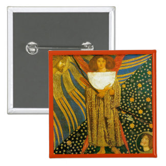 Rossetti's Painting of Love Pinback Button